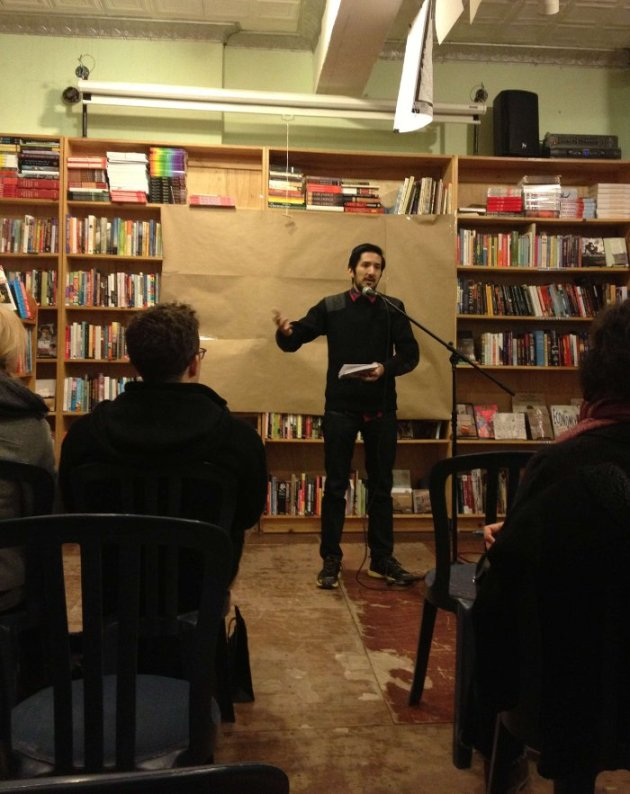 Book Reading @ Bluestockings