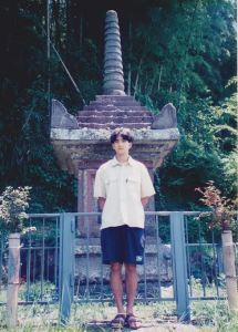 Young me in Japan.
